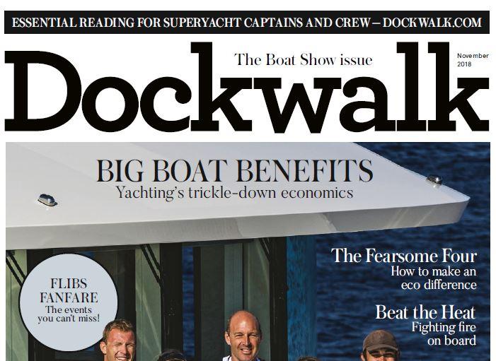 Dockwalk:  Report on AV training USA
